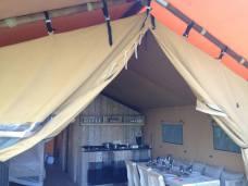 Tente Lodge au Glamping at Montazellis à Alignan du Vent en Languedoc-Roussillon