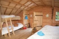 Intérieur cabane au glamping Camping Sandaya à Maisons-Laffitte en Ile-de-France