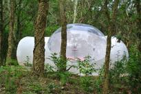 La Bulle en pleine forêt au glamping Lo Rey du Lac à Hossegor en Aquitaine