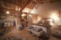 Natura Lodge au glamping d'Emilion de Sens à Gardegan et Tourtirac en Aquitaine