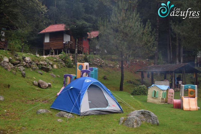 los azufres michoacan en glamping y camping en mexico