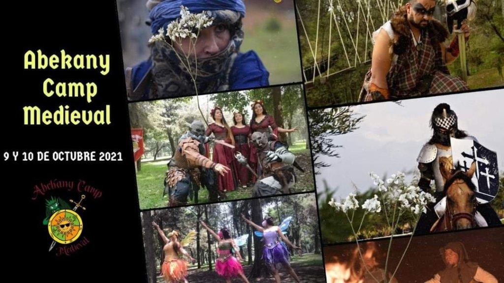 Evento medieval en parque abekan y Camp medieval