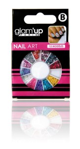 display carrousel nail art Glam'Up