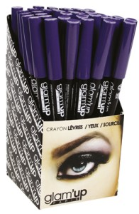 display crayon yeux Glam'Up