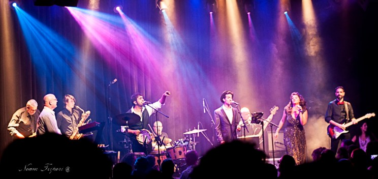 <em>The Motown Tribute Band. Фото - Ноам Цубери</em>
