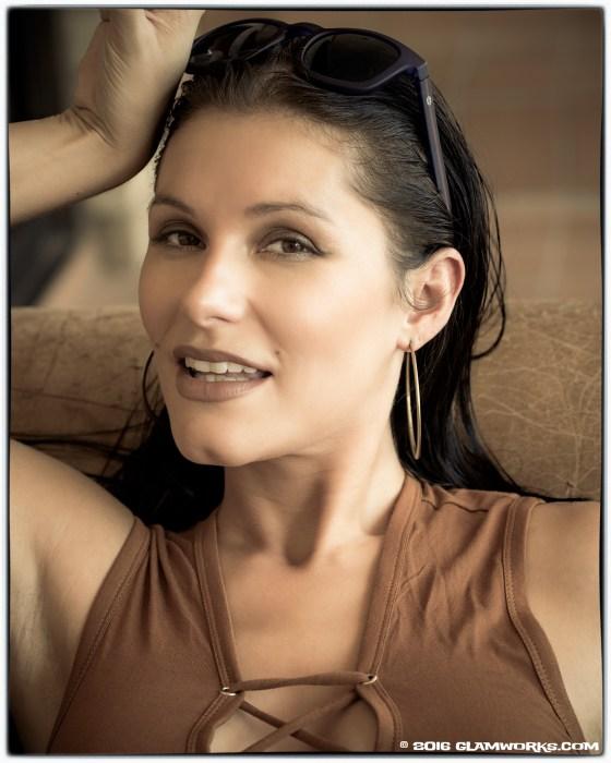 """""""Desert Brown"""" with model Jennifer Arlene ©2016 by Jeff Falls for Glamworks.com"""