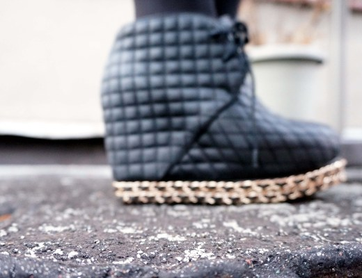 Jeffrey Campbell Quilted Alexis Booties