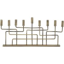 Crate and Barrel Brass Menorah