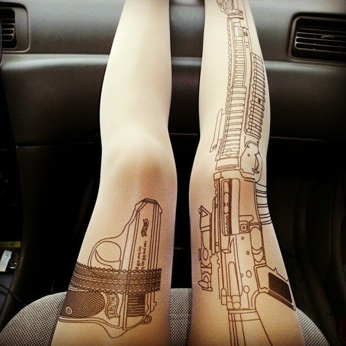 Machine Gun Tights