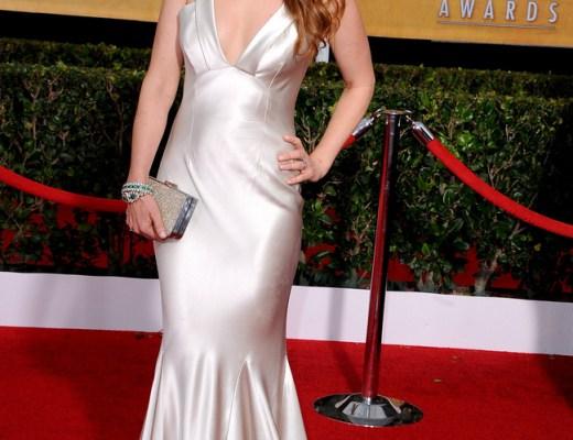 Isla Fischer in Oscar de la Renta 2014 SAG Awards
