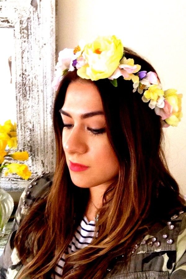 DIY Flower Crown Easy