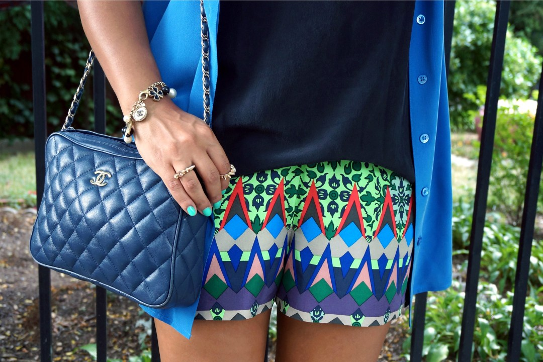 J.Crew Collection Gemstone Floral Shorts