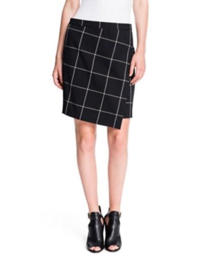 1state-windowpane-print-skirt