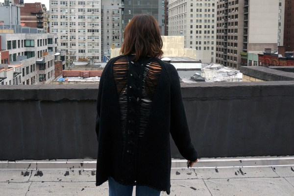 Free People Ladder Back Sweater