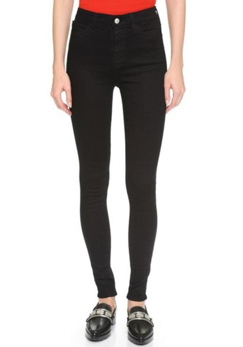 AG Alexa Chung x AG Hynes High Waist Skinny Jeans