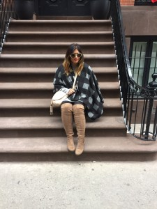 Glamorous Check Blanket Cardigan