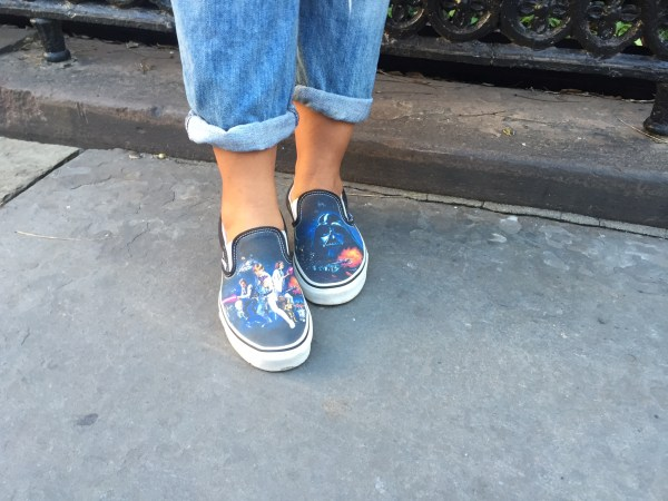 Vans Slip-On Star Wars A New Hope Skate Shoe