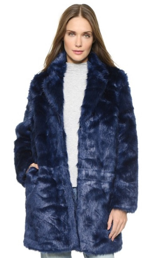 Won Hundred Marian Faux Fur Coat