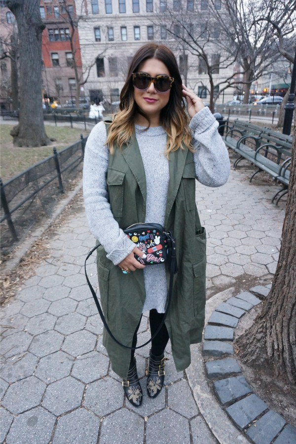 Who What Wear Trench Vest (2)