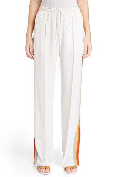 Chloe Rainbow Stripe Track Pants