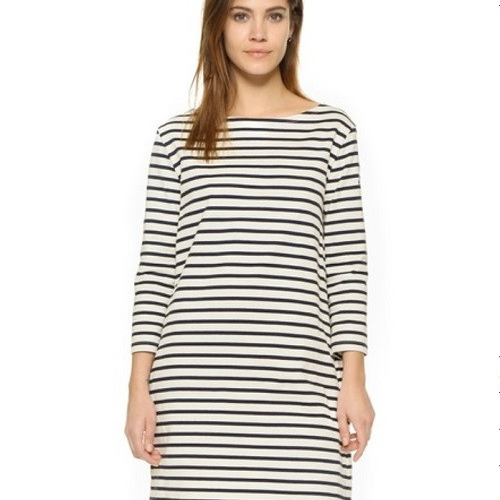 Petit Bateau Hannah Striped Sailor Dress