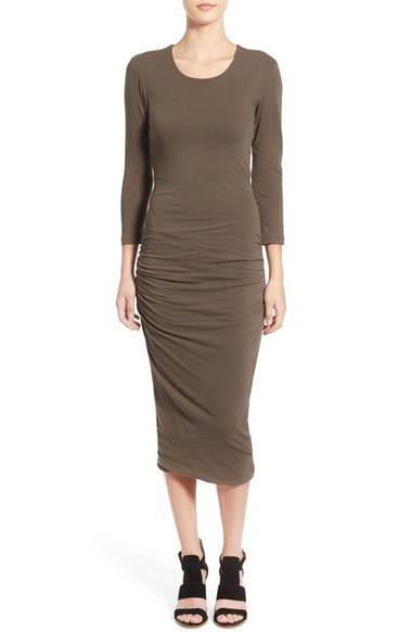 James Perse Cutout Midi Dress