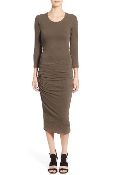 James Perse Cutout Midi Dress