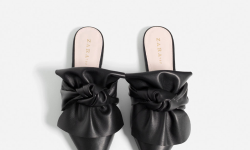 zara-leather-slides-with-bow