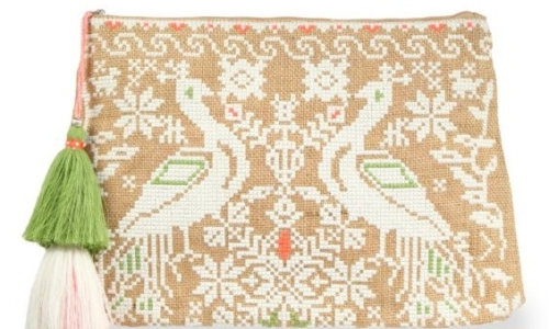 star-mela-estee-embroidered-canvas-clutch