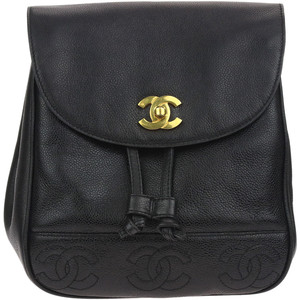 What Goes Around Comes Around Chanel Caviar CC Backpack