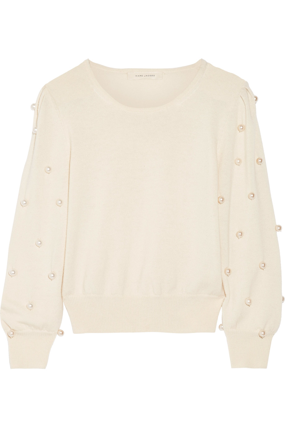 Marc Jacobs Faux Pearl Embellished Sweater