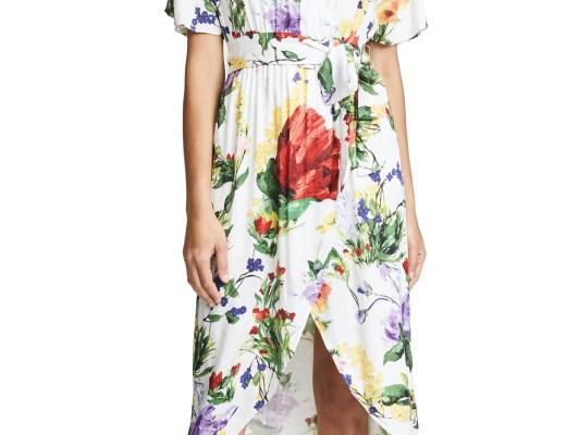 Alice and Olivia Clarine Wrap Dress