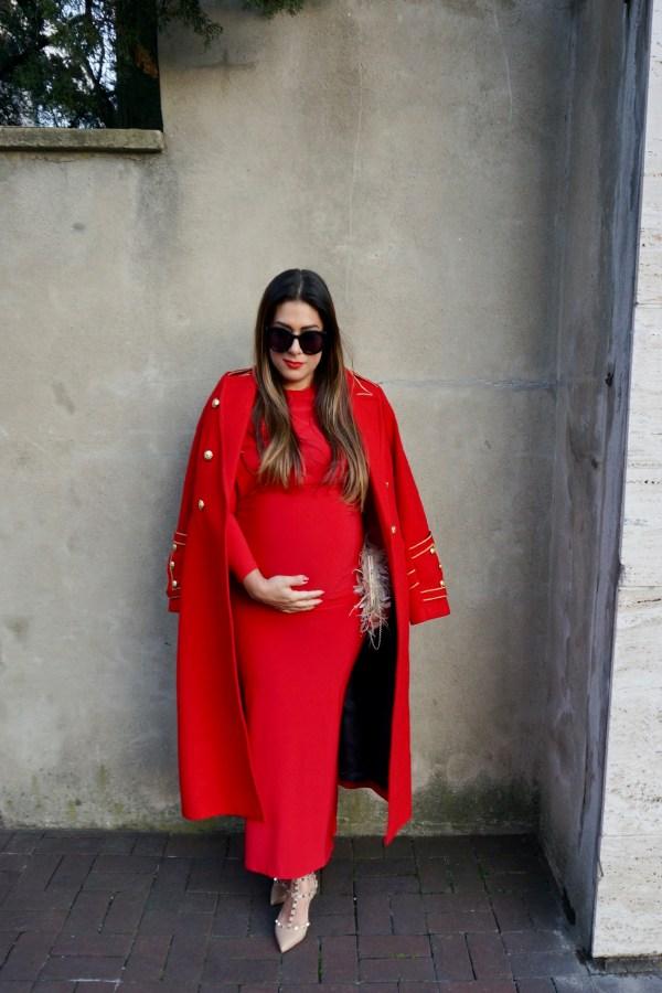 Tiff Marie Maternity Gigi Gown