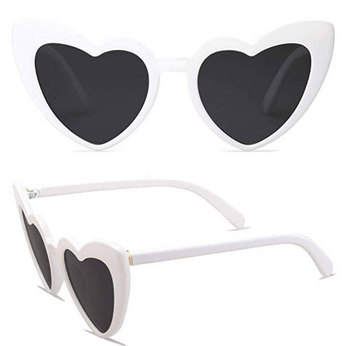 Amazon Saint Laurent Heart Sunglasses Dupes