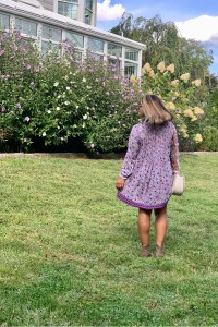 Poupette St Barth Ola Floral Long-Sleeve Tunic Dress