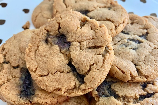 Easy Flourless Peanut Butter Jelly Cookies
