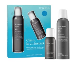 Living Proof Clean, in an instant Perfect Hair Day Dry Shampoo Set