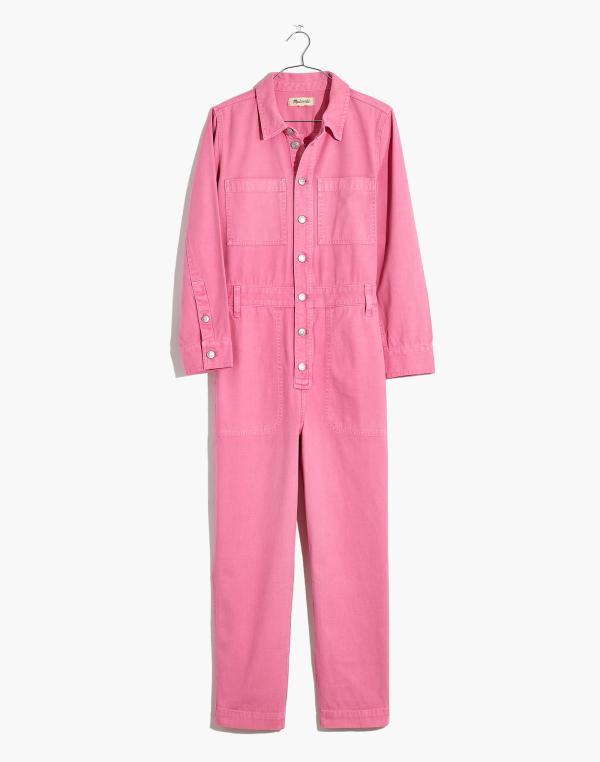 Madewell Garment Dyed Coverall Azalea