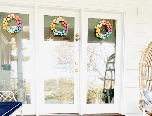 Target Sprtiz Easter Egg Wreath
