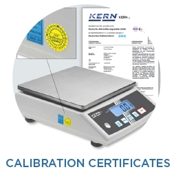 Kern Calibration Certificates