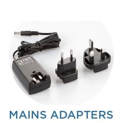 Mains adapters