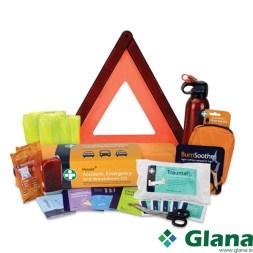 Motokit A&E Breakdown First Aid Kit in Orange EVA Case