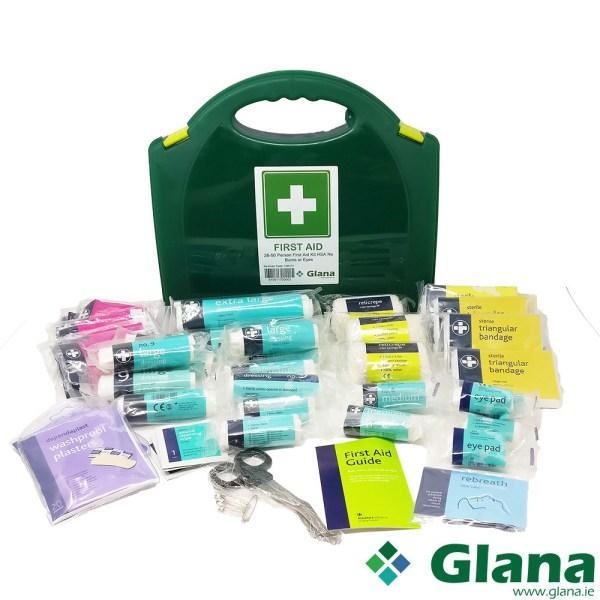 26-50 Person First Aid Kit HSA No Burns & Eye