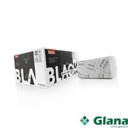 SATINO Black Handtowels 2 Ply Ecolabel