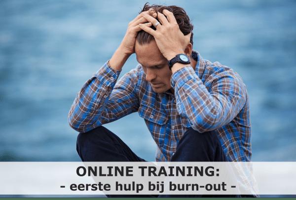 Online training burn-out; eerste hulp bij burn-out; burn-out; burn-out studenten; burn-out huisartsen