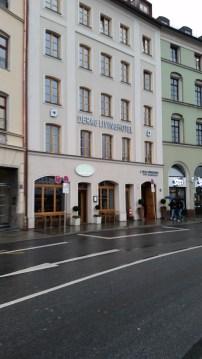 Our hotel in Munich