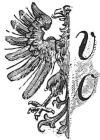 Der halbierte Adler (= Ad) und die zwei Buchstaben vo = Advo... - Rebus Exkurs Glarean Magazin