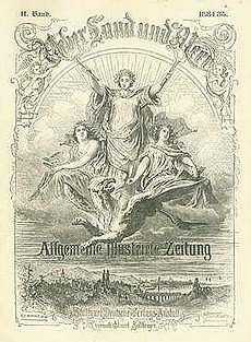 Die sog. Allgemeine Illustrirte Zeitung