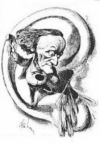 Richard Wagner zertrümmert das Trommelfell seiner Zuhörer (Gill)