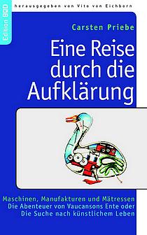Carsten Priebe - Eine Reise durch die Aufklärung - Maschinen, Manufakturen und Mätressen Rezension im Glarean Magazin